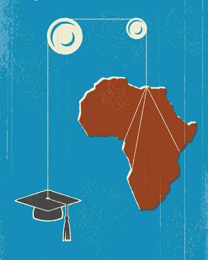 Today I'm thinking about higher education in Ghana