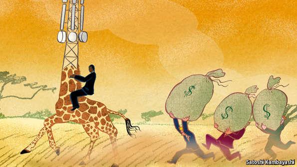 A sub-Saharan scramble