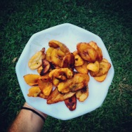 Fried Plantains, Accra 2015