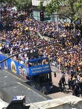 Warriors victory parade in Oakland