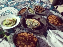 A feast in Accra